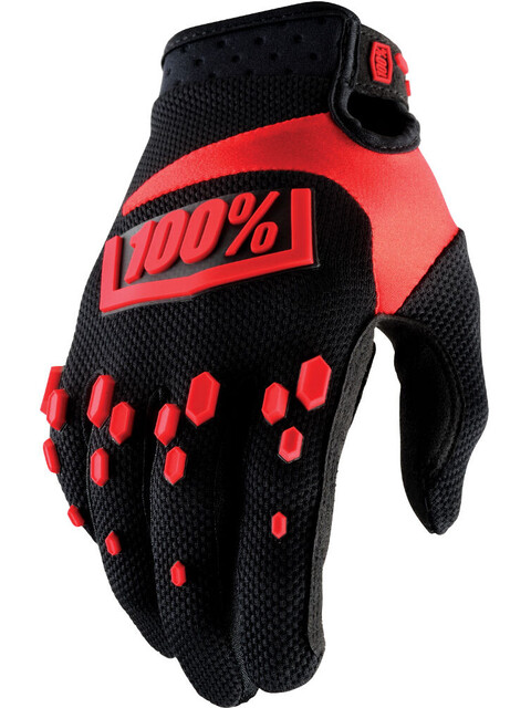100 Airmatic Bike Gloves Red Black At Addnature Co Uk